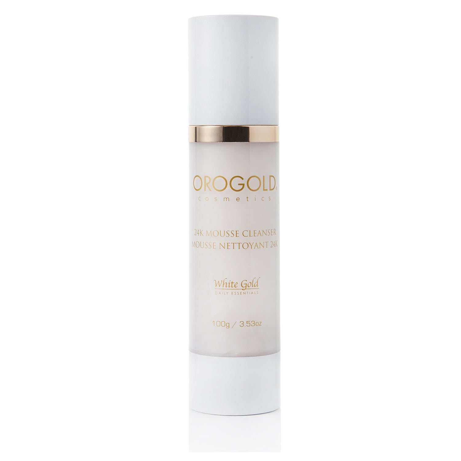 orogold mousse cleanser