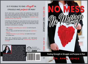 SIGNED BY AUTHOR COPY No Mess No Message Paperback