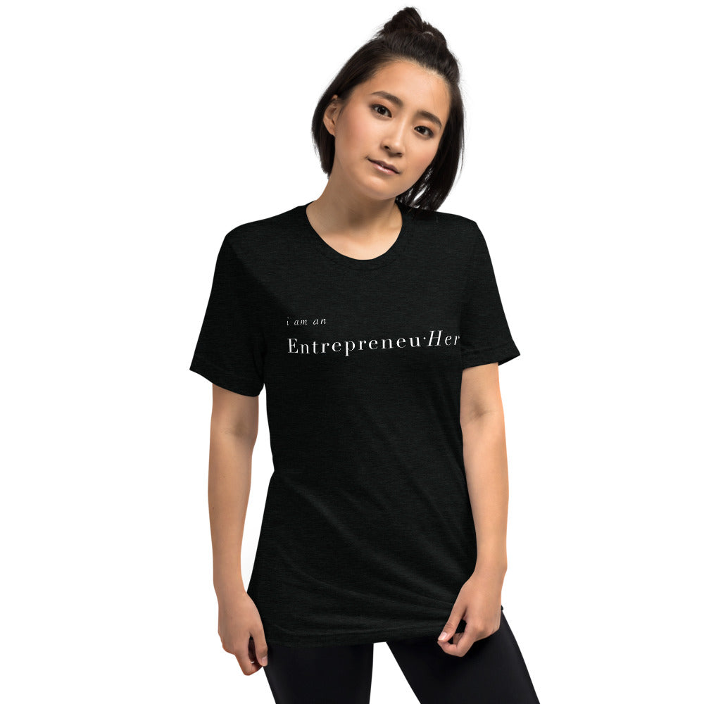 Entrepreneu Her Black Shirt
