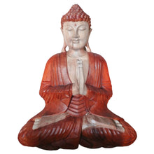 Load image into Gallery viewer, Hand Carved Buddha Statue - 40cm Welcome