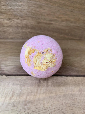 Pink Pitaya - Dried Roses Pure Lavender & Bergamot Essential  Oils