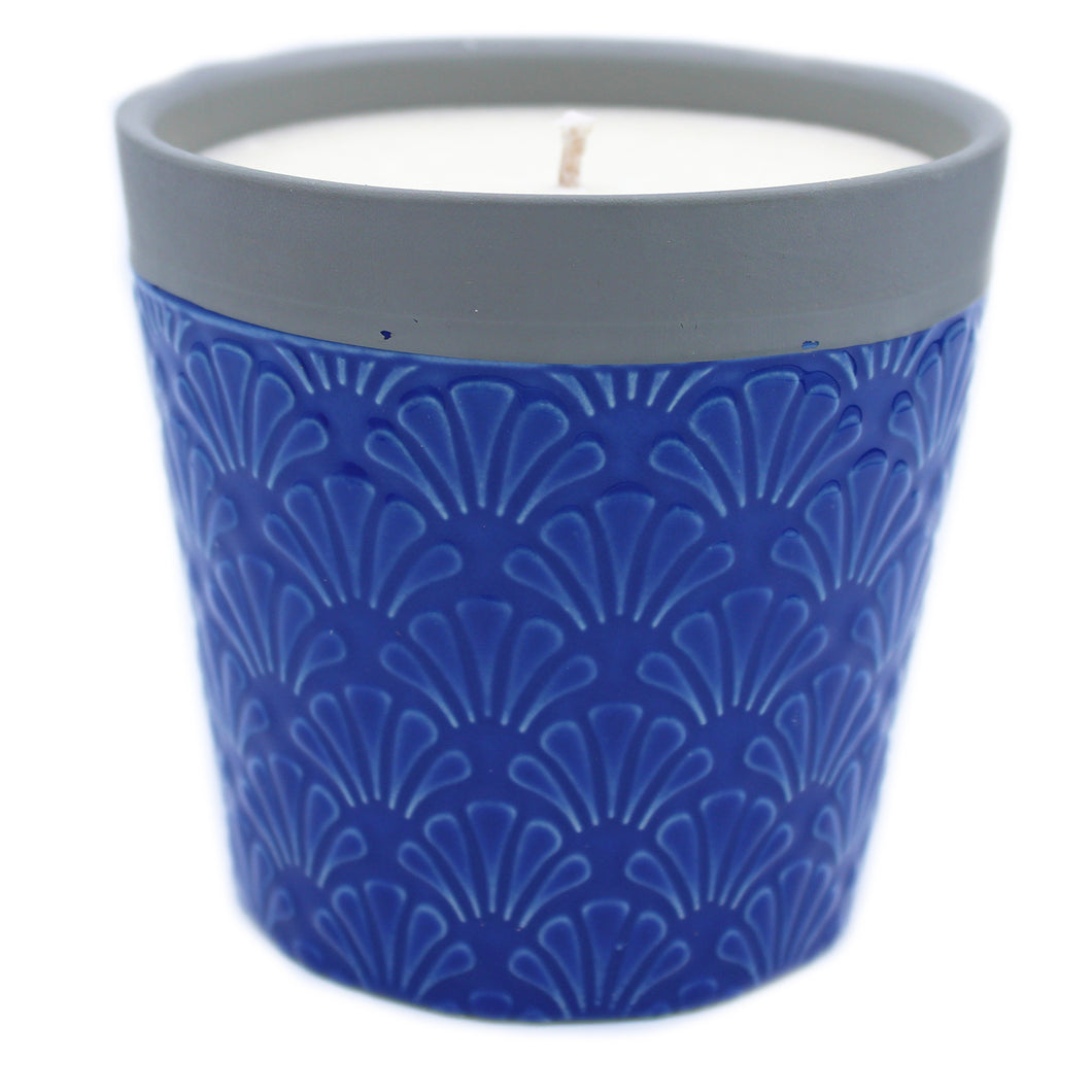 Home is Home Candle Pots - Blue Day