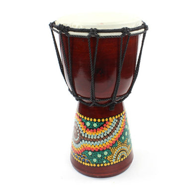 30cm Small Painted Djembe