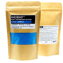 Load image into Gallery viewer, Aromatherapy Bath Potion in Kraft Bag 350g - Total Unwind