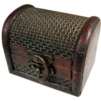 Med Colonial Box - Mesh Embossed - Muneragifts.co.uk