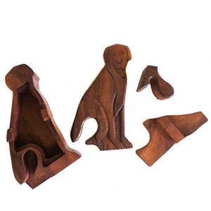 Dog Puzzle Box - Muneragifts.co.uk