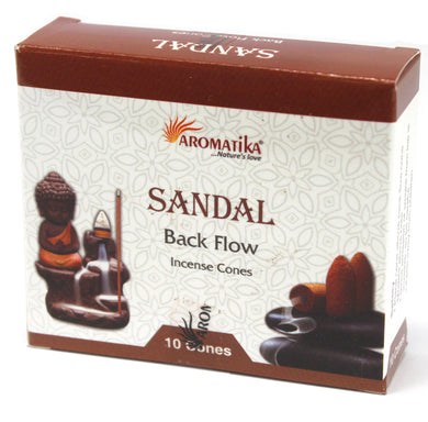 Aromatica Backflow Incense Cones - Sandalwood