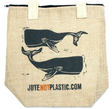 Load image into Gallery viewer, Eco Jute Two Whales