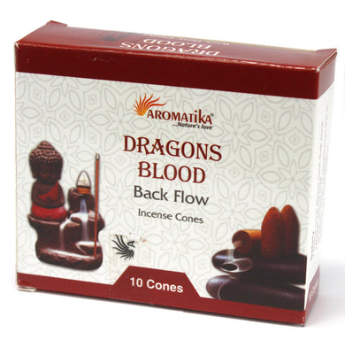 Aromatica Backflow Incense Cones - Dragons Blood