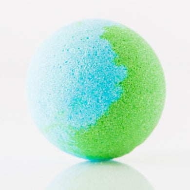 1x Funky Bath Bomb 125g - Sea Breeze
