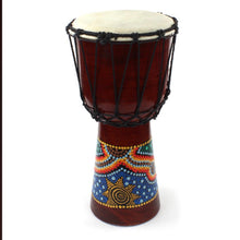 Load image into Gallery viewer, Medium Painted Djembe