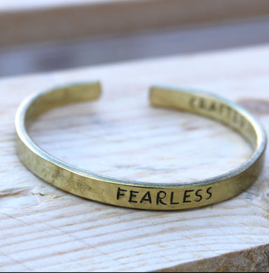 Inspiration Bracelet - Brass Selection