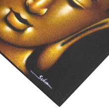 Load image into Gallery viewer, Buddha Painting - Gold Sand Finish