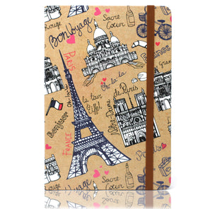Cool A5 Notebook - Assorted Designs - Travel