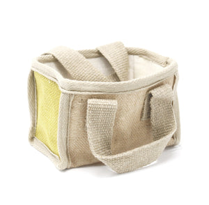 Mini Shopping Basket - 16x10x12cm - Olive