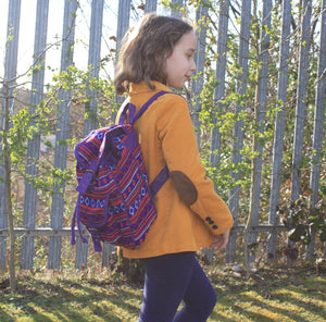 Small Nepali Backpacks - Violet