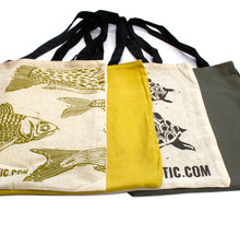 Load image into Gallery viewer, Lrg 2x4oz Reversable Cotton Bag 38x42cm - (2 designs)