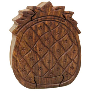 Pineapple Puzzle Box - Muneragifts.co.uk