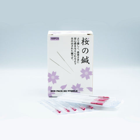Sakura Acupuncture Needles 2540 櫻花針3215
