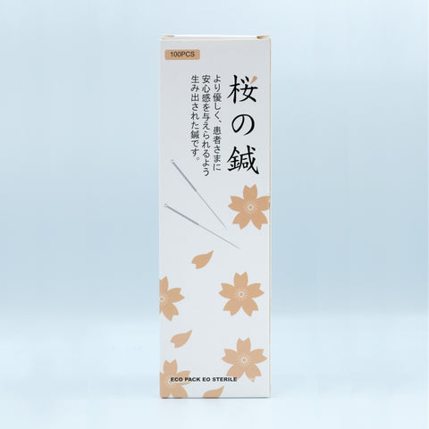 Sakura Acupuncture Needles 30100 櫻花針3040