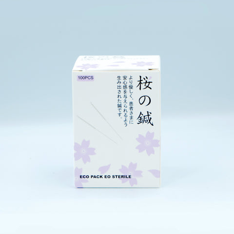 Sakura Acupuncture Needles 2525 櫻花針3210