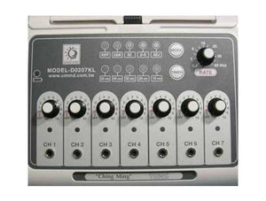 Low- Frequency 7 Channel Tens Unit and Electrical Needles Stimulator