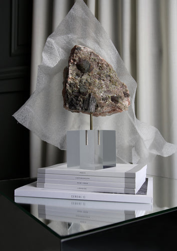 floating mineral stone