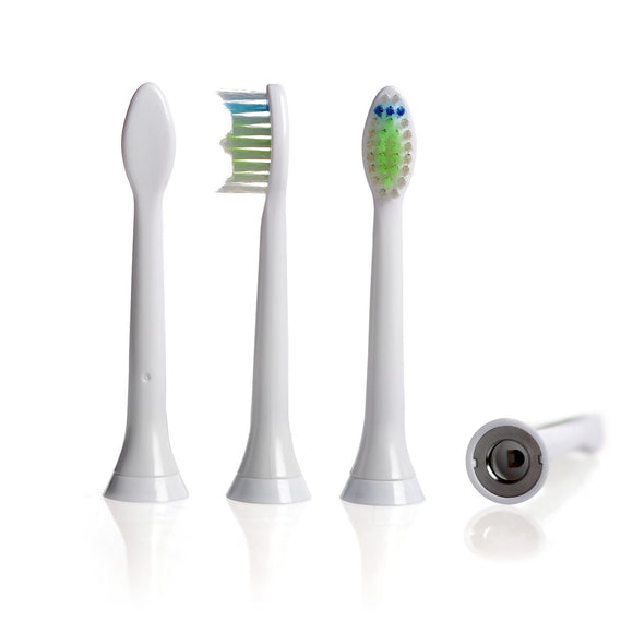 Brossettes type Diamond Clean pour brosse à dents Philips Sonicare