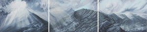 Misty Mountains Triptych