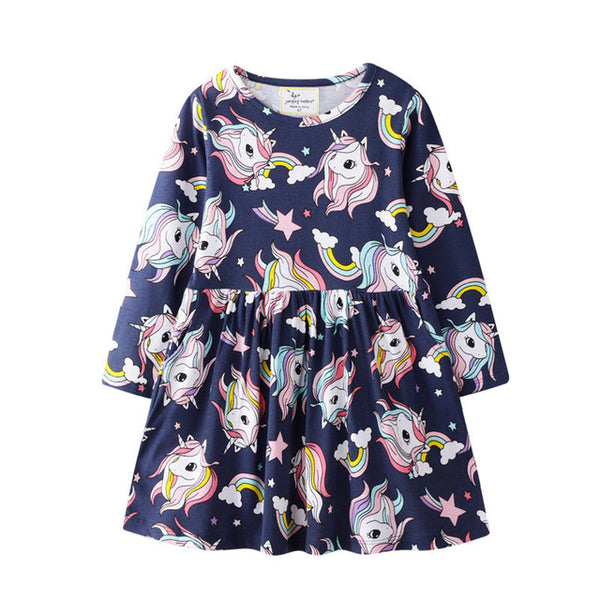 Unicorn Long Sleeve Dress