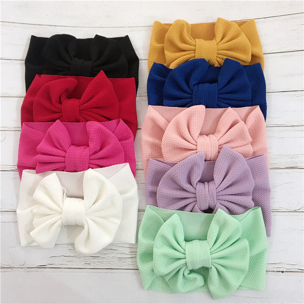 Headband with large bow