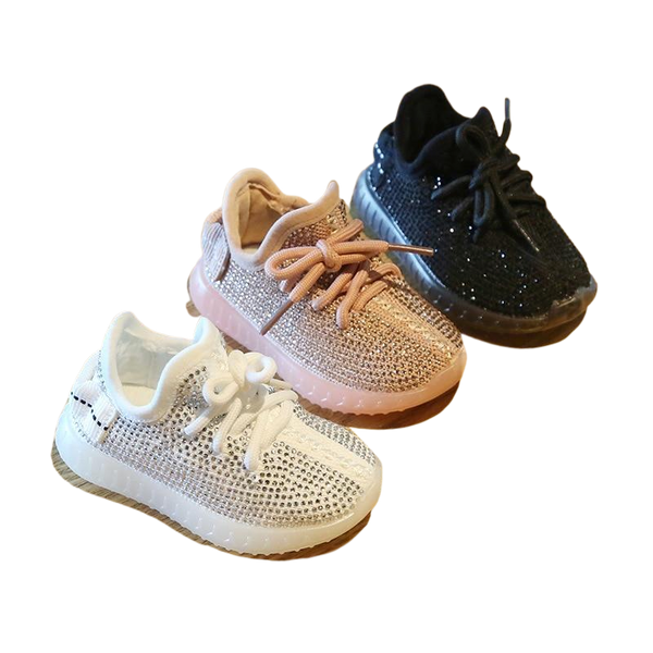 Rhinestone Baby Shoes