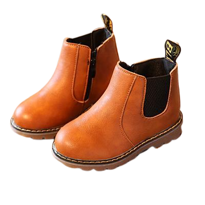 Brown boots for toddler baby