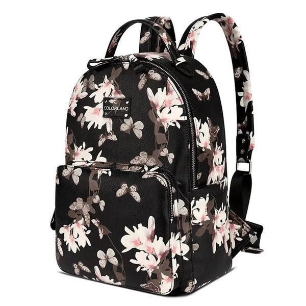 The Floral Diaper Bag - lottie-and-lane