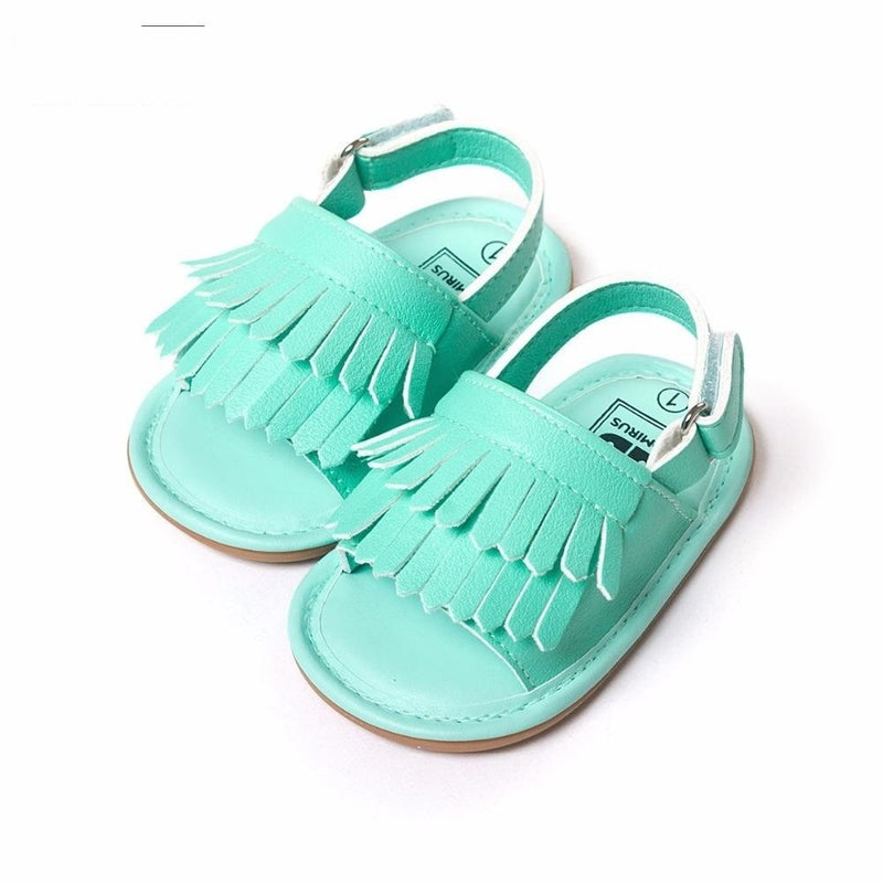 The Fringe Sandal - lottie-and-lane