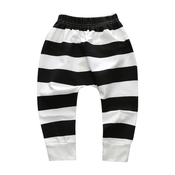 Black and White Stripe Pants - lottie-and-lane