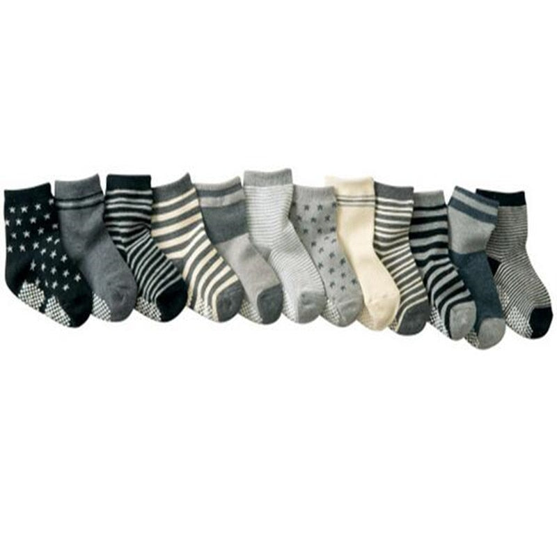 Cotton Socks Ten Pack - Newborn to 3T - lottie-and-lane