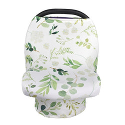 Eucalyptus Nursing and Car Seat Cover - lottie-and-lane