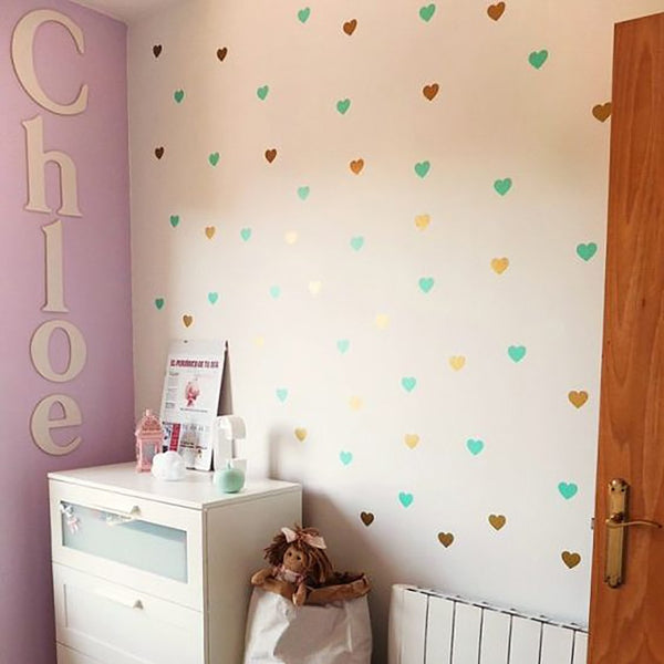 Heart Wall Decal - lottie-and-lane