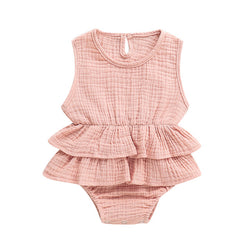 The Ruffle Romper - lottie-and-lane