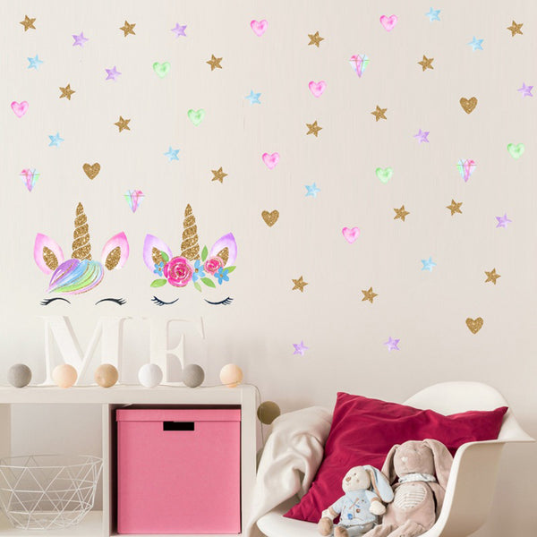 Magical Unicorn Wall Decal - lottie-and-lane