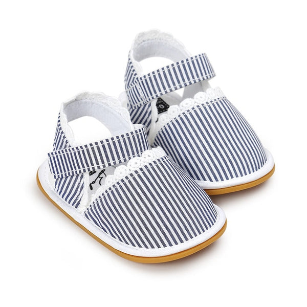 Summer Stripe Sandal - lottie-and-lane