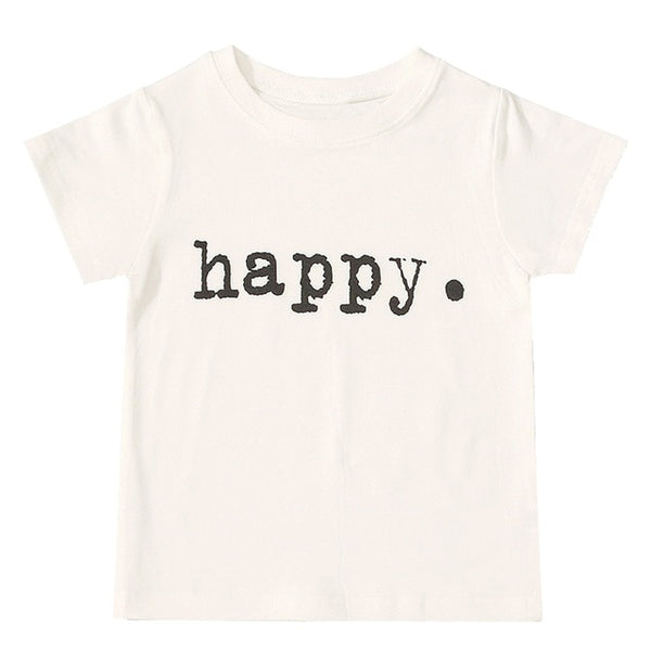 Happy T-Shirt - lottie-and-lane