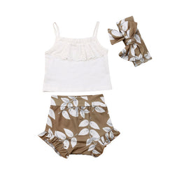 Leaf Bloomers 3 Piece Set - lottie-and-lane