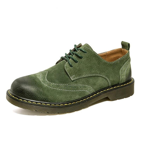 vintagepalace.us, GreeN SuEDE oXFord Sho, lACED-uP, oLD sChool, RubbER SolED, WaTERpROOF, fIne StiCHING,