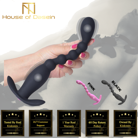 Wireless Control Anal Beads Vibrator Anal Plug Prostate Massager Butt Plug BP104-Anal Beads-BDSM Shop - House of Dasein Kink Toys and Apparel