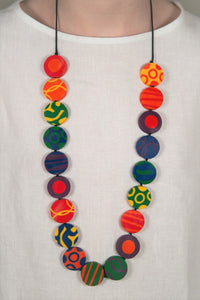 Christine Coloured necklace
