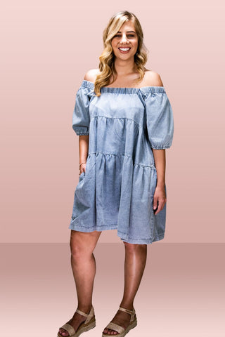 Matilda Denim Dress