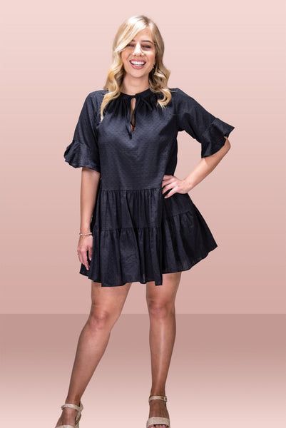 Sophie Summer Dress - Black