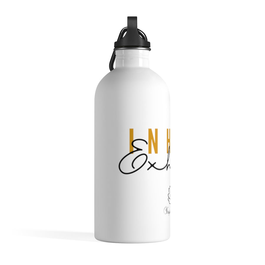 Inhale Exhale Stainless Steel Water Bottle